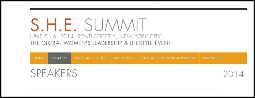 Quality speakers at 2014 S.H.E. Summit