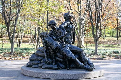 Memorial for female veterans