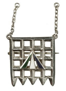 Suffragette brooch here