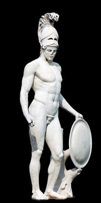 Plaster replica of Ares