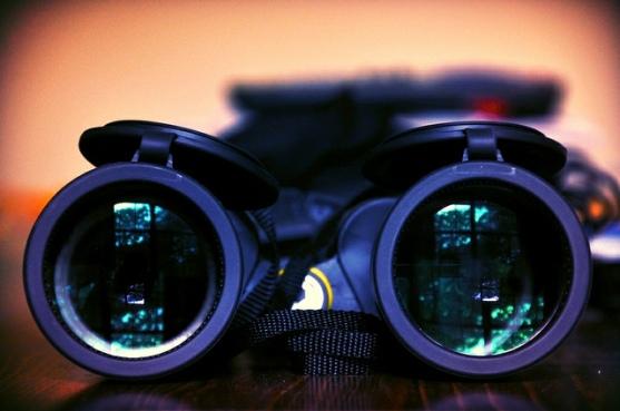 Binoculars, observer effect and feminism