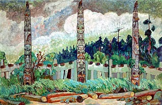 Artwork by Emily Carr