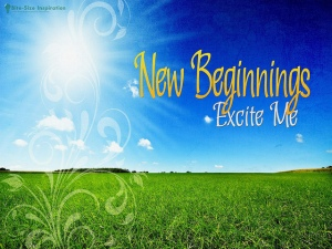 New Beginnings in a New Year