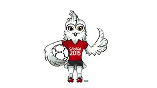 Mascot Shueme for FIFA Women's World Cup Canada 2015