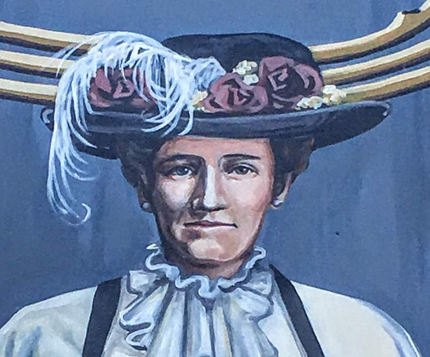 Nellie McClung, as Painted by Mandy van Leeuwen