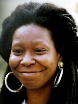 Smiling Whoopi Goldberg