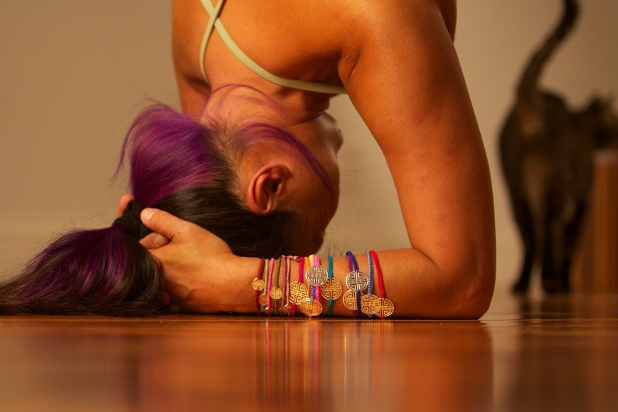 Yoga helps with de-aging this woman's body
