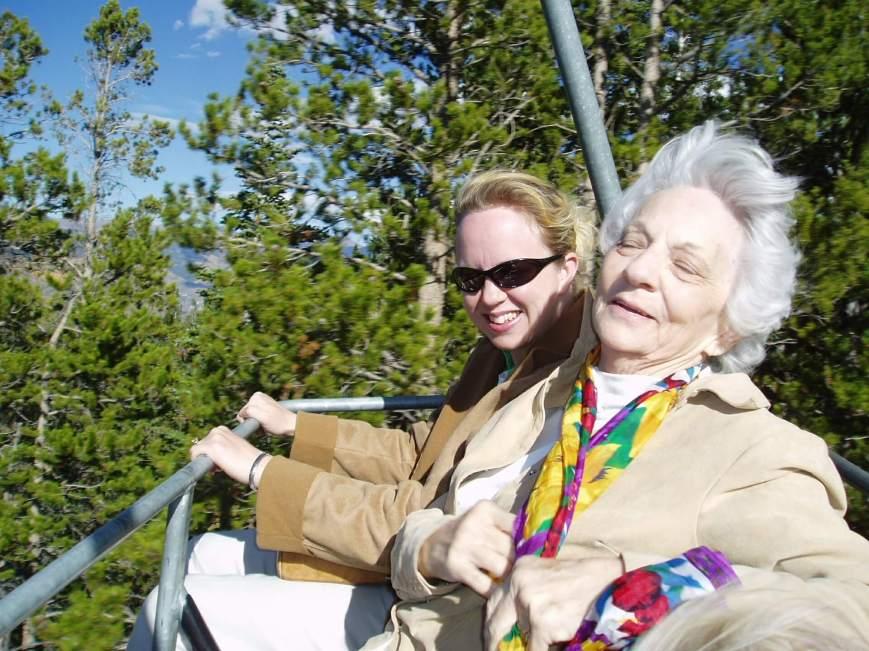 Grandma enjoys life in retirement