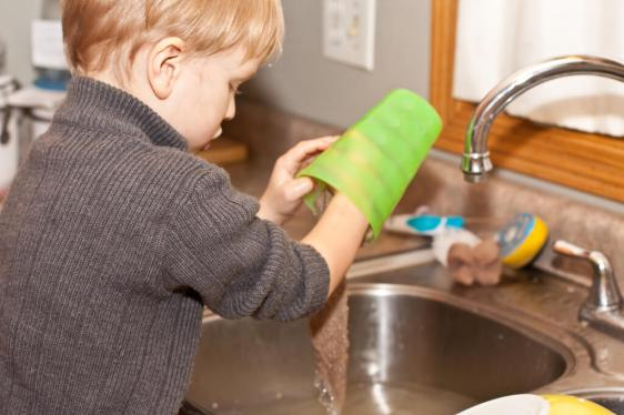 Chores teach responsibility. Make them age-appropriate.