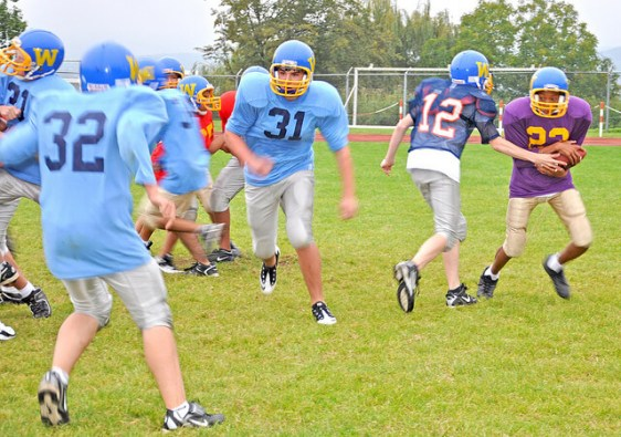 Family sports teams are growing in popularity