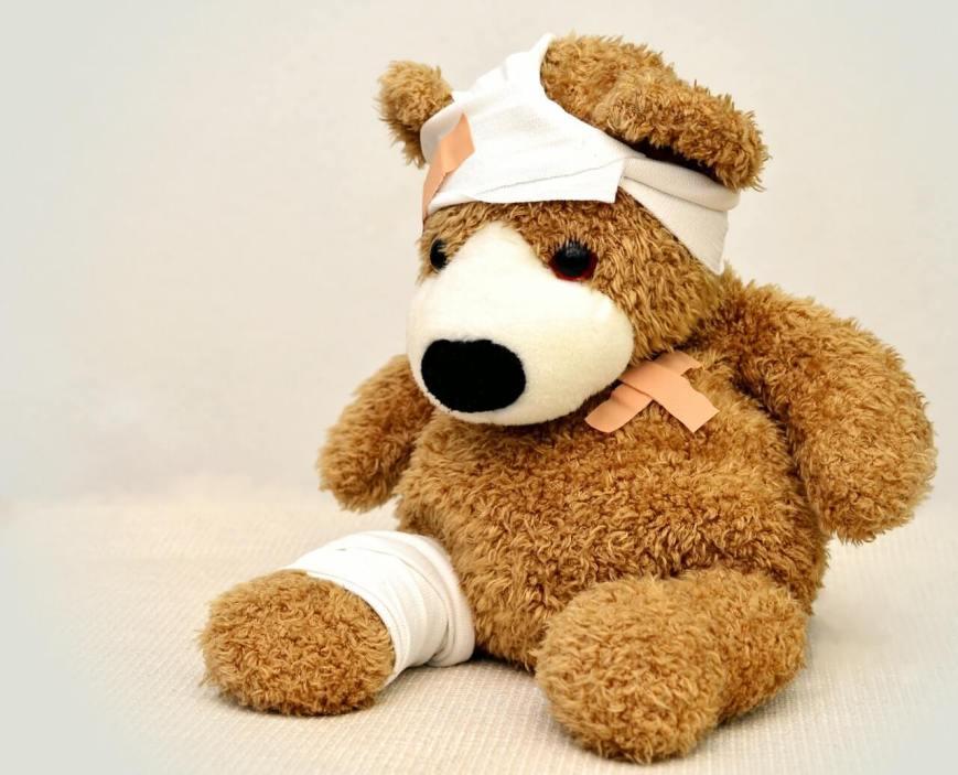 Teddy bear represents path back to wellness