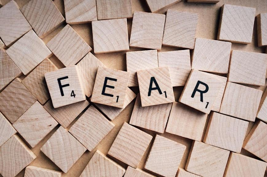 Acknowledge your fears during meditation