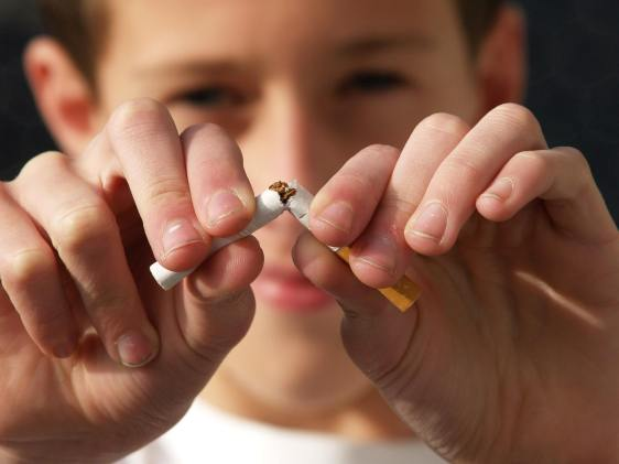 Support for a smoke-free life