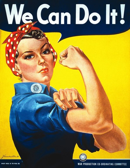 We Can Do It! Labor Poster by Miller