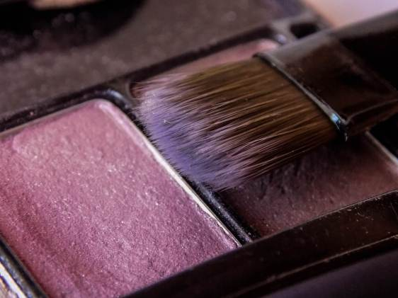 Skin issue or blush makeup