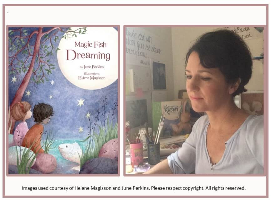Helene illustrates children's books
