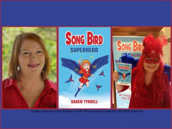 Karen Tyrrell writes to empower kids