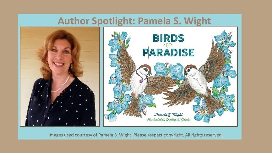"Pamela's ""Birds of Paradise"" book for kids"