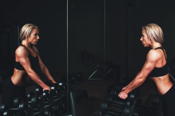 Weights, the gym, and women
