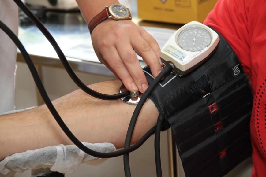 Regular check of blood pressure