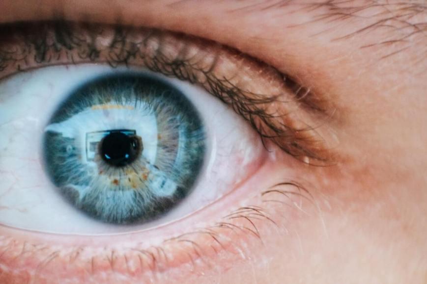 Optometrists check for eye health