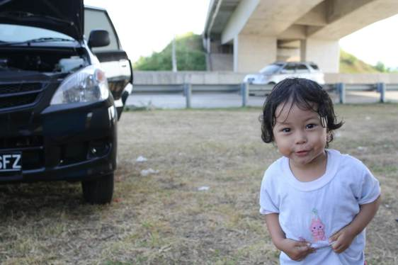 Kids and cars can together involve risks