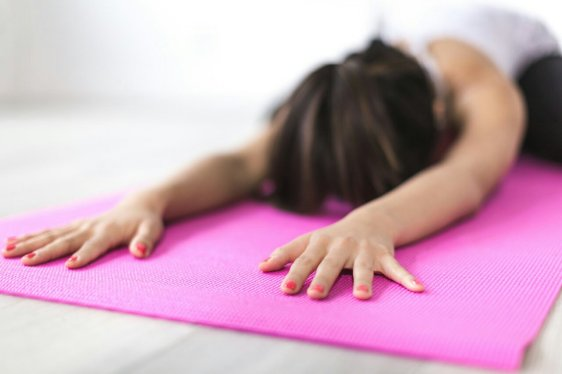 Difficult times can be eased a bit with yoga sessions